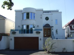 Art Deco homes as they appear now in Lilliput
